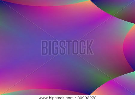 Rainbow Colors Abstract Background