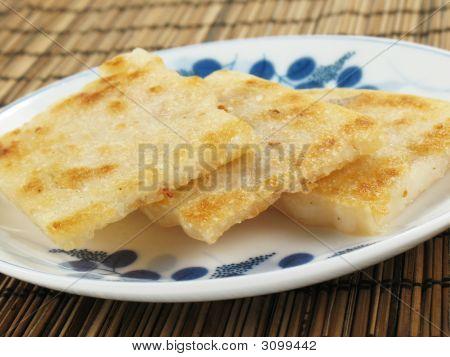 Crispy Taro Cakes
