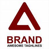 A Letter Logo Eps 10, A Letter Logo Vector, A Letter Logo Design Vector Illustration Template, A Let poster
