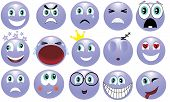 foto of lachrymal  - images showing various emotions of people - JPG