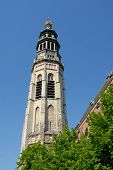 Bell Tower Of The Medieval Cathedral poster