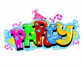 picture of birthday party  - Kid Party Invitation - JPG