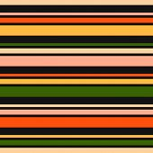 Horizontal Stripes Seamless Pattern. Vector Colorful Lines Texture. Abstract Geometric Striped Backg poster