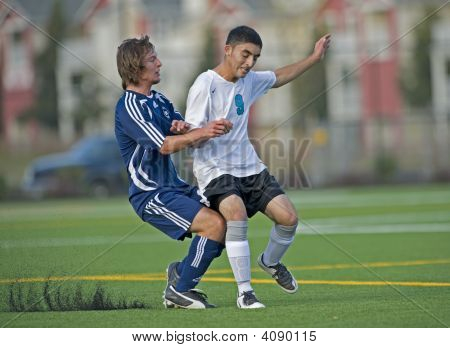 Boys Hs Varsity Soccer Ball Control