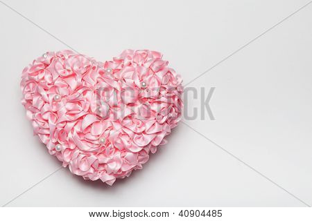 Folded Ribbon Heart