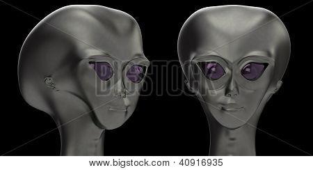 Cabeça alienígena