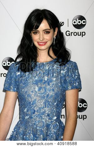 LOS ANGELES - JAN 10:  Krysten Ritter attends the ABC TCA Winter 2013 Party at Langham Huntington Hotel on January 10, 2013 in Pasadena, CA