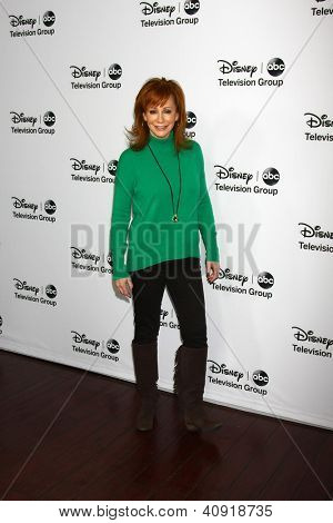 LOS ANGELES - JAN 10:  Reba McEntire attends the ABC TCA Winter 2013 Party at Langham Huntington Hotel on January 10, 2013 in Pasadena, CA