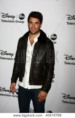 LOS ANGELES - JAN 10:  Josh Bowman attends the ABC TCA Winter 2013 Party at Langham Huntington Hotel on January 10, 2013 in Pasadena, CA