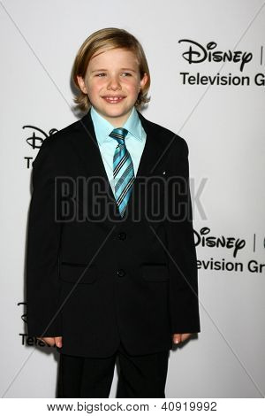 LOS ANGELES - JAN 10:  Jakob Salvati attends the ABC TCA Winter 2013 Party at Langham Huntington Hotel on January 10, 2013 in Pasadena, CA