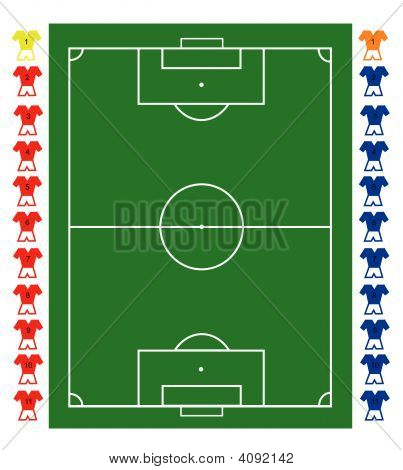 Football Pitch Tactical Board