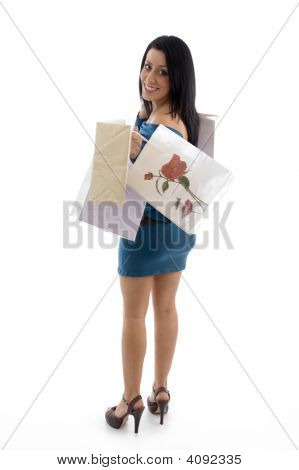 Model Carrying Carry Bags