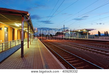 Passenger Train Station - Railway