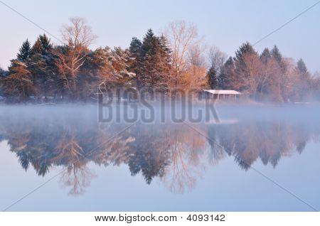 Winter Sunrise Whitford Lake