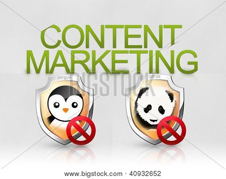 Content marketing algorithm panda penguin seo