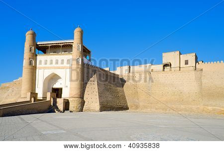Ancient Muslim Architectural Complex Ark Fortress
