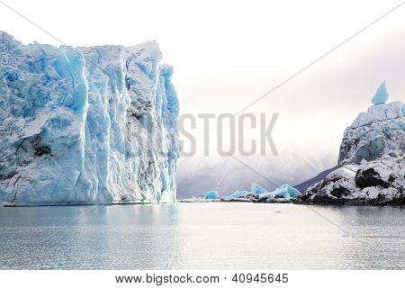 Glaciar Perito Moreno na Argentina