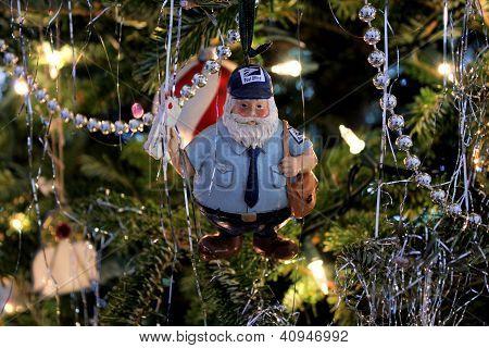 Mailman Ornament