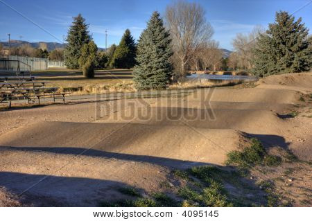 Racing Bmx Track