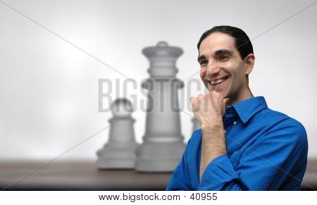 Businessman And Chess-2