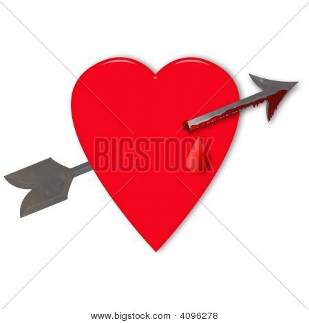 Valentine Heart With Arrow