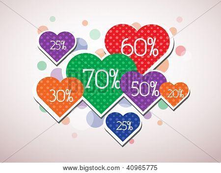 Valentine discount