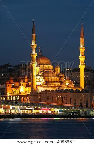 New Mosque (Yeni Cami). Istanbul, Turkey