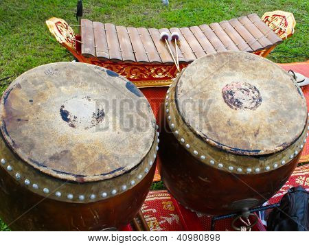 Gong and Xylophone