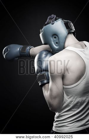 Young Strong Boxer