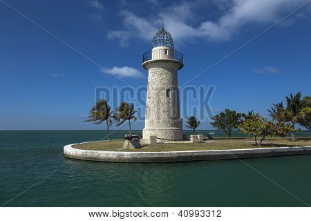 Lighthouse at Key Biscayne nation park