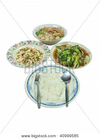 Asia Style Meal