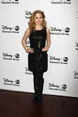 LOS ANGELES - JAN 10:  Allie Grant attends the ABC TCA Winter 2013 Party at Langham Huntington Hotel