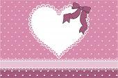 heart frame scrapbook background