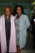 LOS ANGELES - JAN 12:  CCH Pounder, Lorraine Toussaint arrives at the 2013 Film Inependent nominees
