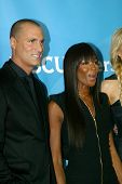 PASADENA, CA - JAN. 7: Nigel Barker and Naomi Campbell arrives at the NBCUniversal 2013 Winter Press