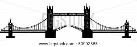 Silhouette Of The Drawbridge