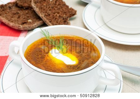 Broth And Bread