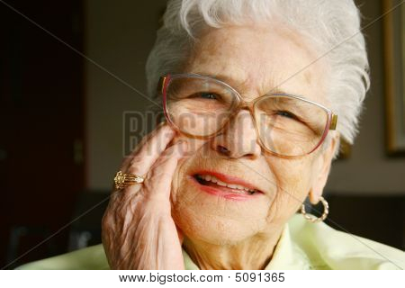 Sonriente Senior