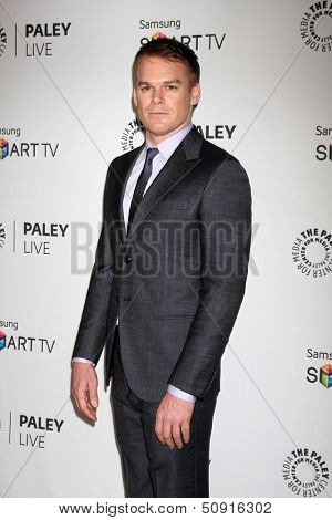 LOS ANGELES - SEP 12:  Michael C. Hall at the PaleyFest Fall Previews:  Fall Farwell-