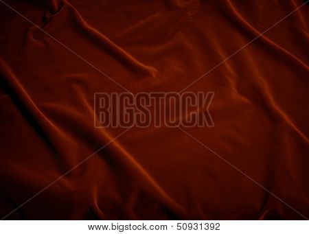 Plush Red Velvet Fabric