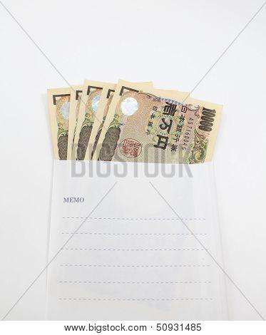 Japanese YEN note
