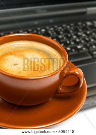 Coffee Cup & Laptop