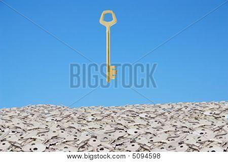 Gold Key Of Success