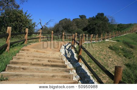 Steep Canyon Stairway