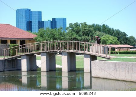 Canal Foot  Bridge0725