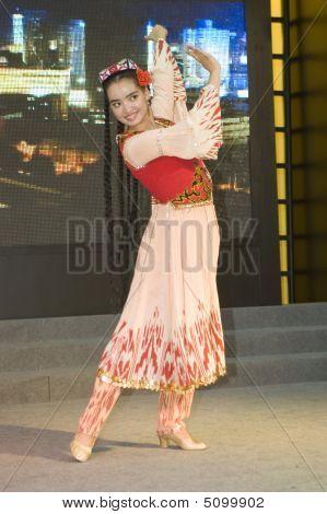 China Cultural Fair In Shenzhen - Xinjiang Dancer