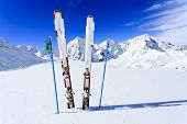 pic of italian alps  - Skiing - JPG