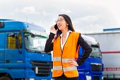 stock photo of fleet  - Logistics  - JPG