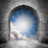 foto of heavens gate  - Way to heaven - JPG