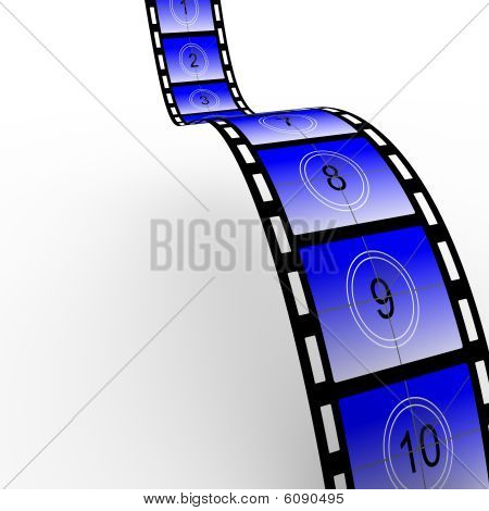 Countdown Film Strip